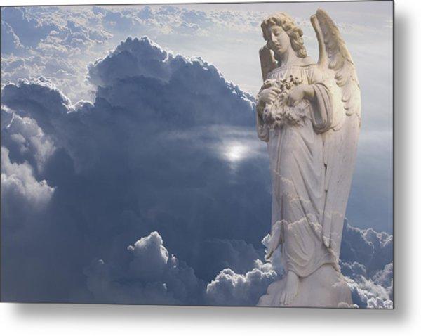 Angel In The Clouds Metal Print by Jim Zuckerman