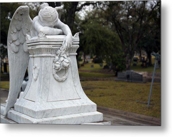 Angel Of Grief Houston 3 Metal Print