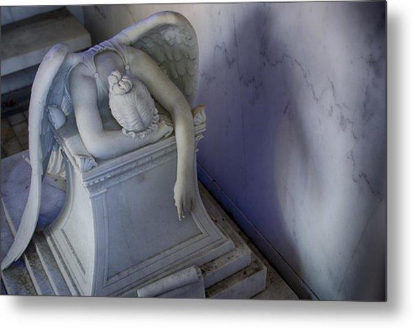 Angel Of Grief New Orleans 4 Metal Print