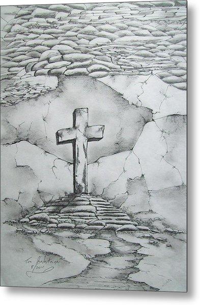 Angels Are Here Metal Print by Tom Rechsteiner