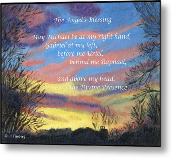 Angel's Blessing Metal Print