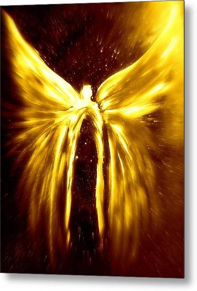 Angels Of The Golden Light Anscension Metal Print