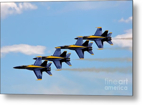 Angels Of The Sky Metal Print