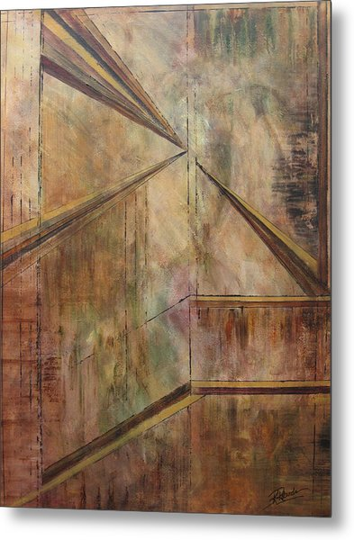 Angles Of Enlightenment Metal Print
