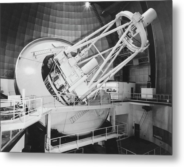 Anglo-australian Telescope Metal Print by Royal Astronomical Society/science Photo Library