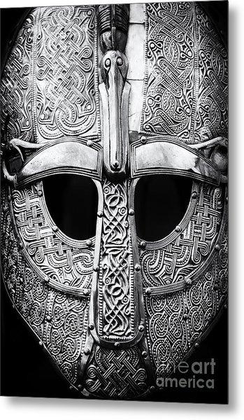 Anglo Saxon Helmet Metal Print