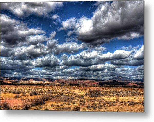 Angry Clouds Metal Print