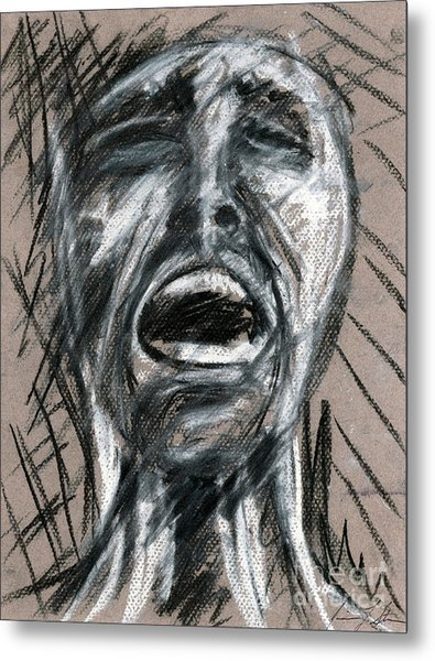 Anguish Metal Print by Jessica Sturges