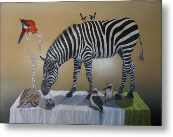 Animal Curiosity Metal Print by Clive Holden