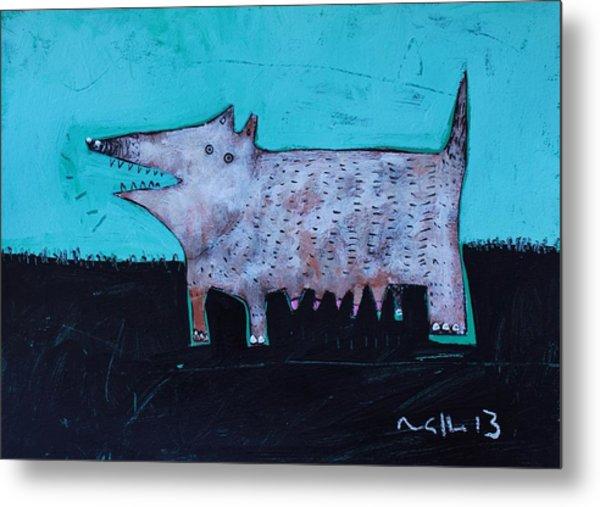 Animalia Canis No. 7  Metal Print by Mark M  Mellon