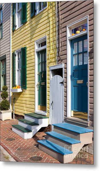Annapolis Historic Homes I Metal Print