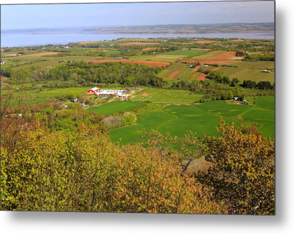 Annapolis Valley Nova Scotia Metal Print