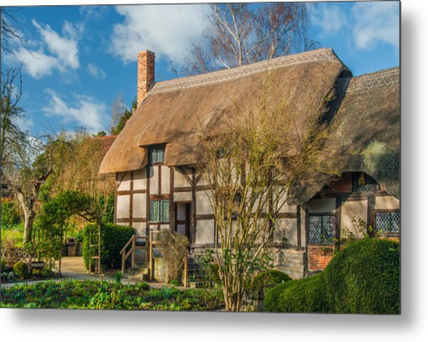 Anne Hathaways Cottage Metal Print by David Ross