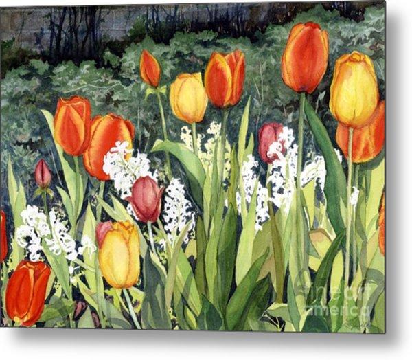 Ann's Tulips Metal Print