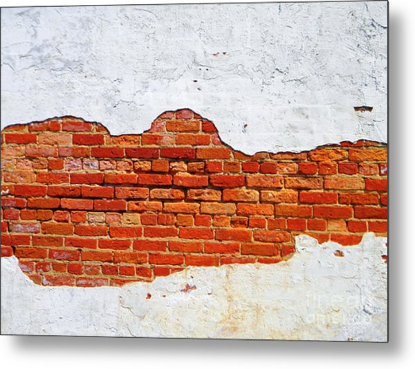 Another Brick In The Wall Metal Print by Lorraine Heath