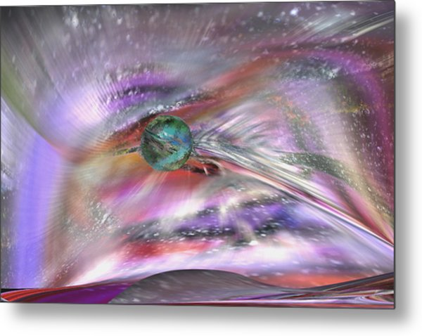 Another Cosmic View Metal Print