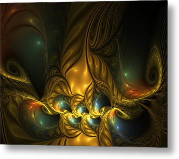 Another Mystical Place Metal Print