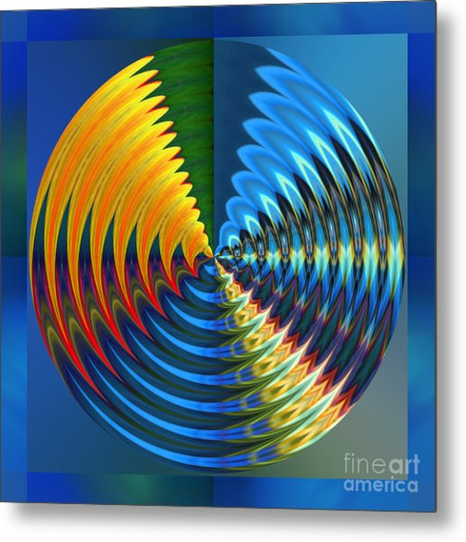 Another Wheel Of Life Metal Print