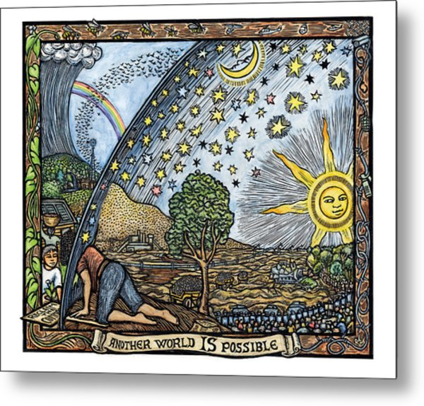 Another World Is Possible Metal Print