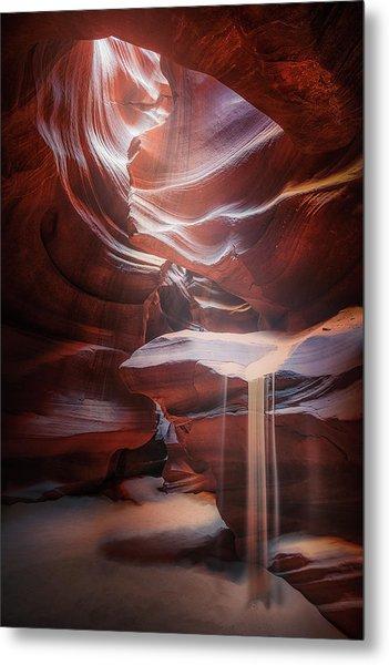 Antelope Sandfall Metal Print by Clara Gamito