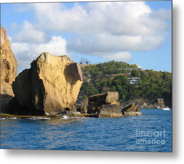 Antigua - Aliens Metal Print