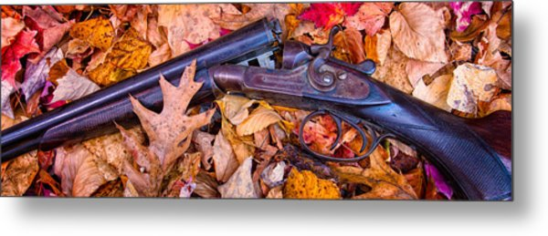 Metal Print featuring the photograph Antique Double by Jeff Sinon