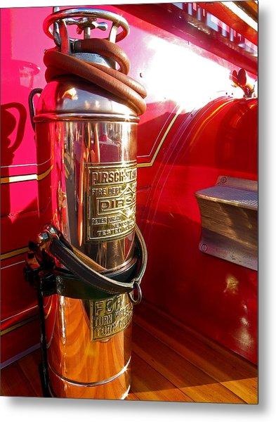 Antique Fire Extinguisher Metal Print