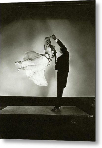 Antonio And Renee De Marco Dancing Metal Print