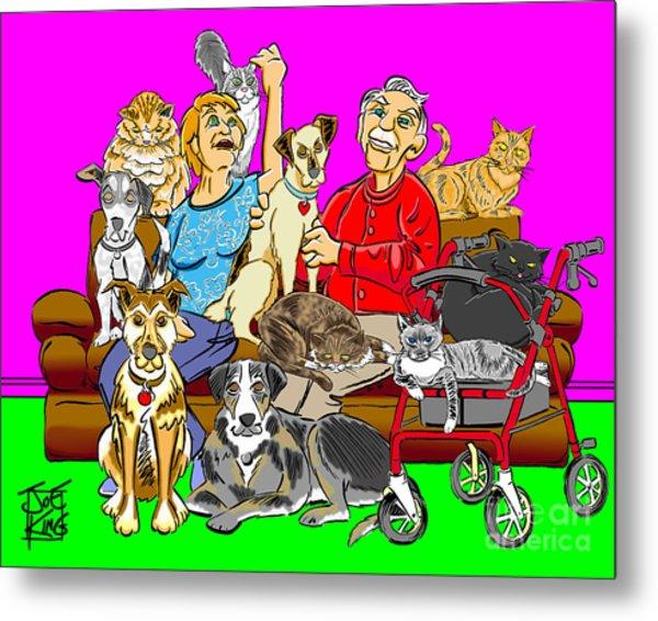 Antonow Family Portrait Metal Print by Joe King