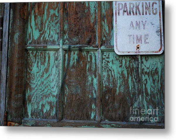 Any Time Metal Print by Susan Hernandez