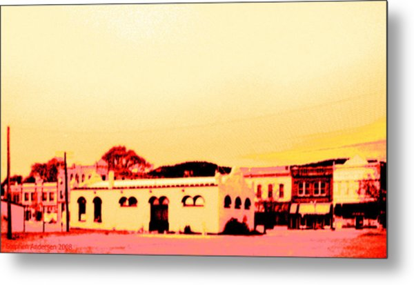 Anytown New Mexico Metal Print