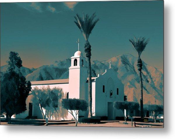 Anza Borrego Desert Church Metal Print