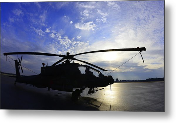 Apache Morning Metal Print