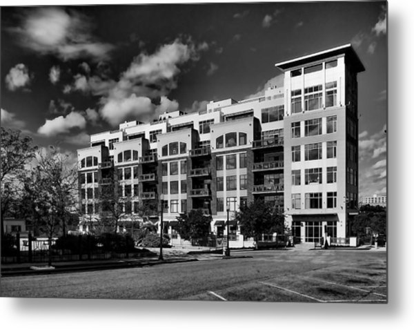 Apartment In Akron Metal Print by William Woide