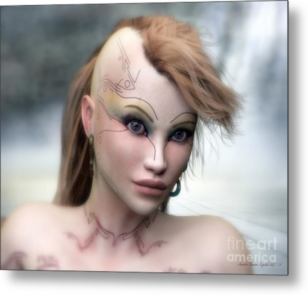Aphrodite Metal Print by Sandra Bauser Digital Art