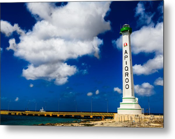 Apigroo Lighthouse Metal Print