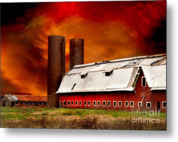 Apocalypse At Rolling Fork Metal Print