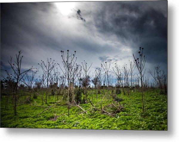 Apocalyptic Landscape Metal Print