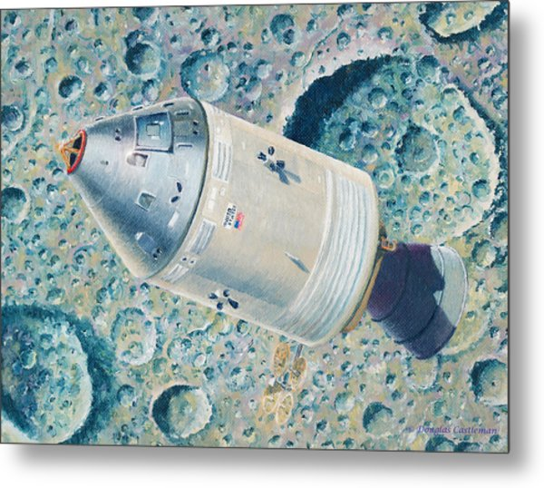Apollo 8 Metal Print