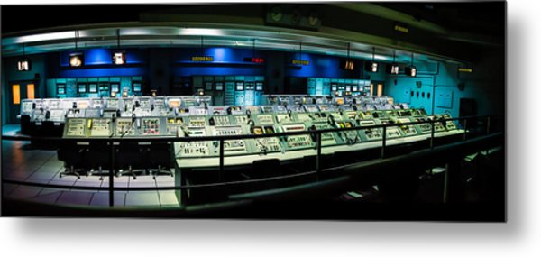 Apollo Mission Control Metal Print