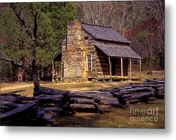 Appalachian Homestead Metal Print