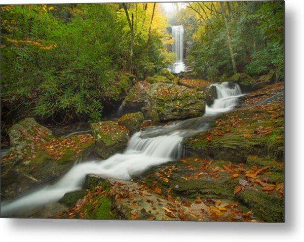Appalachian Stream Metal Print by Doug McPherson