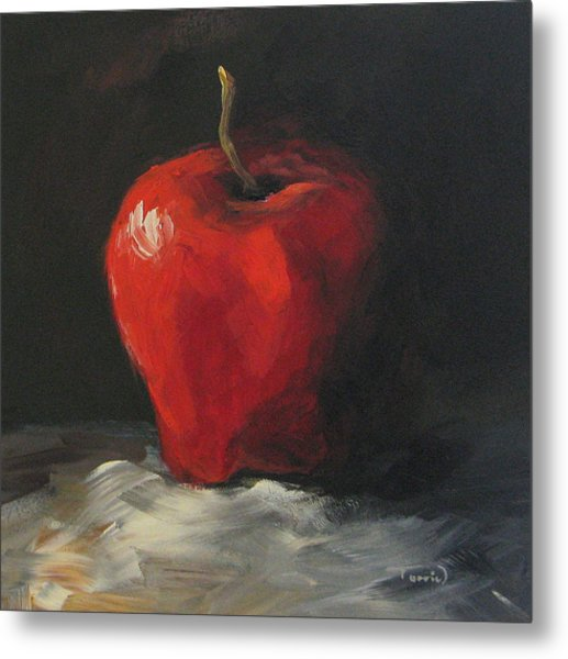 Apple 01 Metal Print
