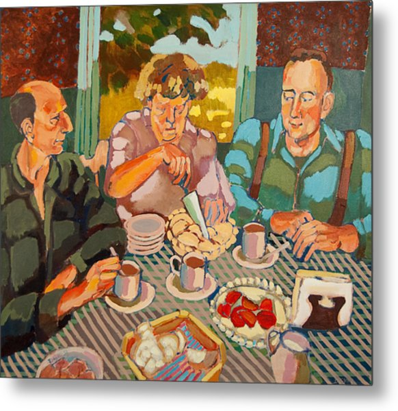 Apple Pie Brunch Metal Print