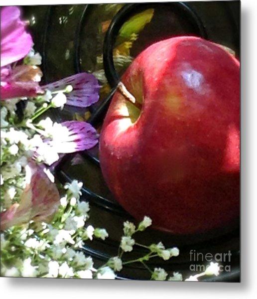 Appleflowers Metal Print