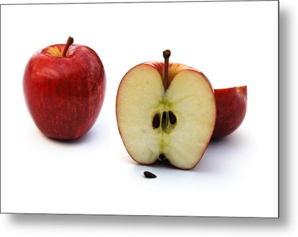Metal Print featuring the photograph Apples Still Life by Jocelyn Friis