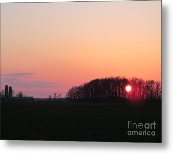 April 24 2013 Sunset Metal Print