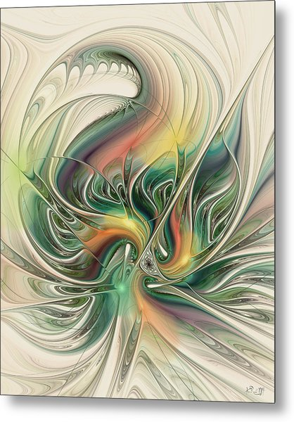 April's Temper Metal Print