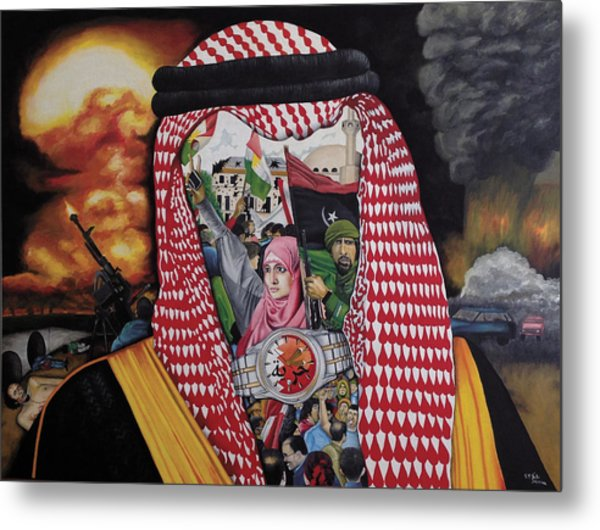 Arab Revolution Metal Print