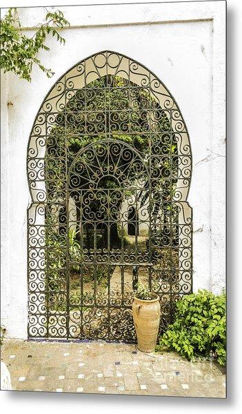 Arabian Door Metal Print